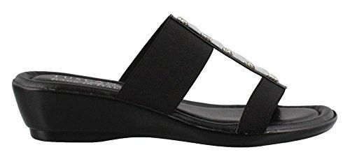 Sandale Femme Elba Femme Facile Noir