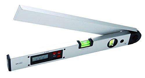 BGS Digitaler LCD Winkelmesser mit Wasserwaage, 450 mm, 1 Stück, 50440