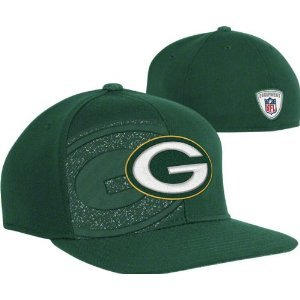 - Green Bay Packers Hat Flex Fit Small / Medium Cap NFL Double Logo Sideline
