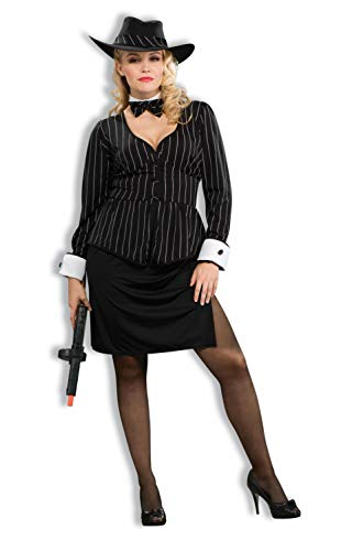 Forum Plus Size Gorgeous Gangster Costume Plus Size]()