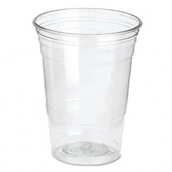 Dixie® Clear Plastic PETE Cups CUP,16OZ CLEAR PETE,CR (Pack of2)
