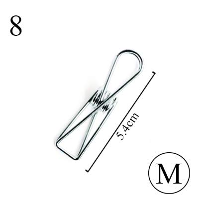 Cute Kawaii Solid Colored Metal Notes Letter Paper Clips For Ticket File Creative Binder Clips Novelty Stationery Office Supply Office & School Supplies Office Binding Supplies