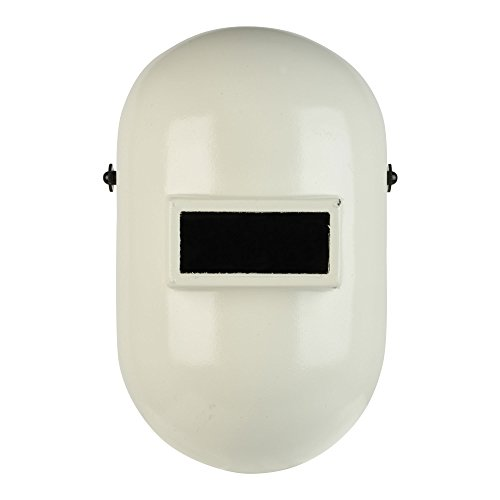 Fibre-Metal Pipeliner Fiberglass Welding Helmet with Rubber Headband (110PWE), White