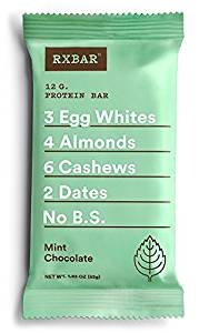 RxBar Real Food Protein Bars Variety Pack, 8 Flavors w/NEW Maple Sea Salt (Pack of 16)