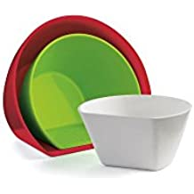 Cuisipro 747312 Set Of 3 Measure / Scoop Bowl Set