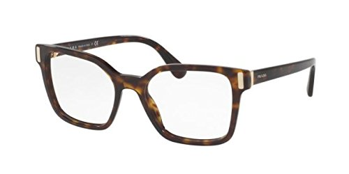 Prada PR05TV Eyeglass Frames 2AU1O1-50 - Havana