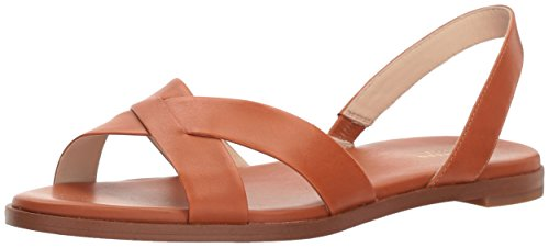 Cole Haan Sling - Cole Haan Women's Anica Sling Sandal, Pecan Leather, 10.5 B US