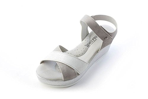 Arcopedico Mujeres Harley Sandal Grey / White