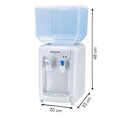 Blanco 65 W 7 litros Bastilipo Riofrio Dispensador de Agua Fr/ía Pl/ástico
