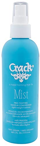 CRACK HAIR FIX Mist Spray - Moisturizes & Protects Hair From Dryness & Thermal Damages, Improves Texture and Restores Youthful Shine ( 6 Oz / 177.4 Milliliter )