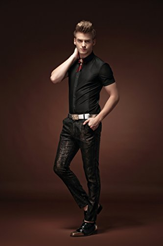 FANZHUAN Herren Hosen Slim Fit Mode