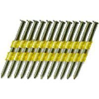 National Nail 0705471 Stick Collated Framing Nail, 0.131 in x 3 in, 22 deg, ()