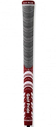 Golf Pride Platinum Series Multi-Compound (Set of 8) (Grey/Red) (Red Platinum Series)