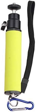 Camera /& Photo Products LED Flash Light Holder Sponge Steadicam Handheld Monopod with Gimbal for SLR Camera Orange Color : Green