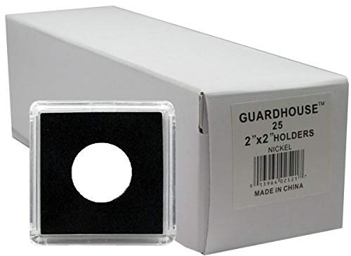 Guardhouse Tetra Snaplocks for Nickels and US $5 Gold Half Eagles Pack of 25  ()