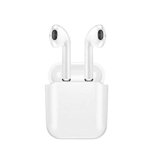 Airpods i8x TWS Bluetooth sans Fil,Oreillette Bluetooth,Mini Jumeaux Vé ritable Casque avec Micro et l'É tui de Chargement,pour Samsung Galaxy, iPhone, Wiko, Autres Smartphone générique
