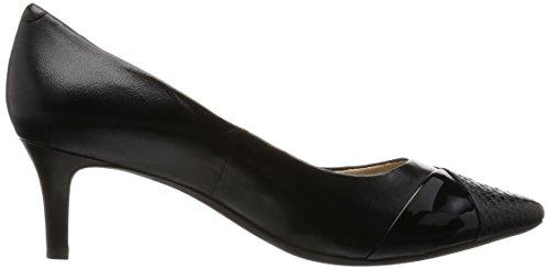 Geox Women's D Elina D Closed Toe Heels Schwarz (Blackc9999) PyWJfYF8df