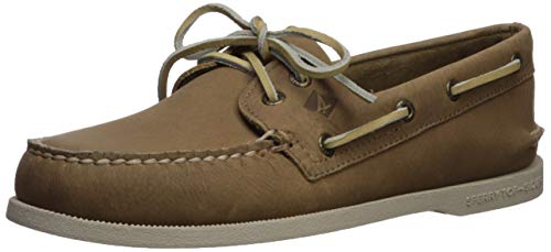 Sperry Men's Authentic Original Richtown Boat Shoe,Taupe,9.5   Medium