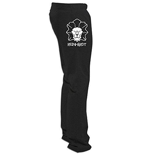 Price comparison product image Overwatch Men's Reinhardt Soft Visor Sweatpants For Men Leisure Wear Black XXL