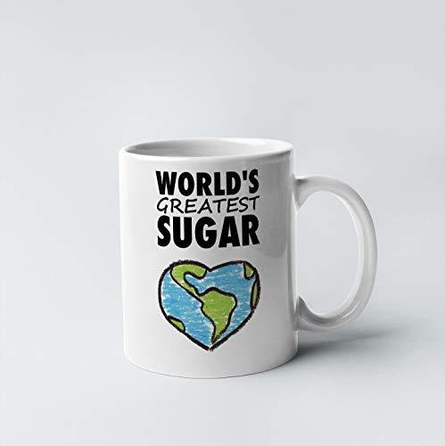 (Sugar, Worlds Greatest Sugar Mug, Gift For Sugar, Gift Mug, Sugar Gift, Mug, Gift Idea For Sugar)