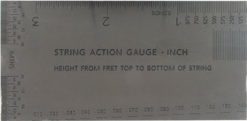 graphic about String Action Gauge Printable referred to as String Motion Gauge - Inch Model