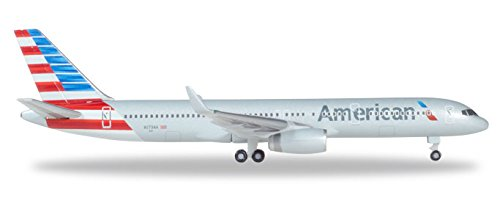 500 American Airlines - HERPA 530125 American Airlines Boeing 757-200-N179AA Aircraft Model Kit, Multi-Colour