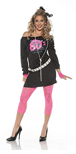 Women's Awesome 80's Costume - Small