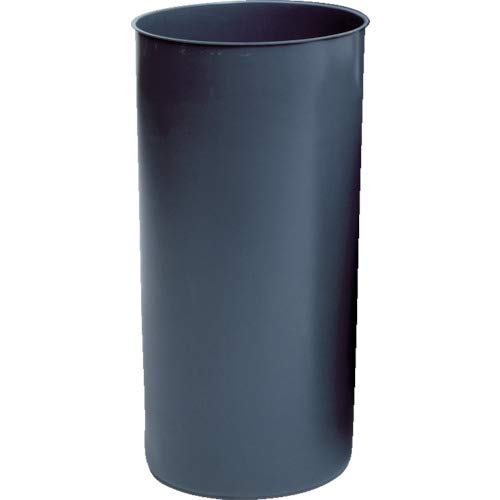"Rubbermaid 3550 GRA 12-1/8 gallon Capacity, 12"" Diameter x 27-1/4"" Height, Gray Color, LLDPE Round Rigid Liner"