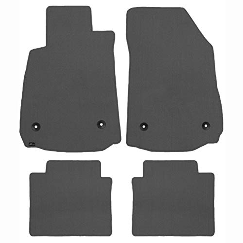 Brightt (MAT-FNE-004) 4 Pc Car Floor Mat Set - Grey - compatible for 1992-1997 Subaru SVX (1992 1993 1994 1995 1996 1997 | 92 93 94 95 96 97) ()