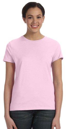 Hanes Women's Nano T-Shirt, Small, Pale Pink (Shirt Pink Tee)