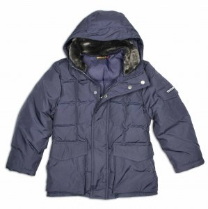 the best attitude 5fa35 8a44f Woolrich Blizzard Parka in navy, 164 (14 Jahre): Amazon.de ...