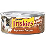 Friskies Supreme Supper for Cats (24/5.5-oz cans), My Pet Supplies