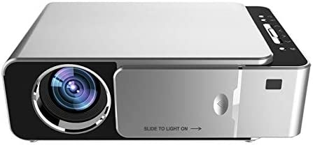 Fannty T6 HD portátil proyector con en pantalla Función de ...