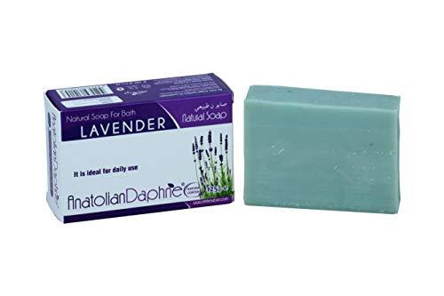 6 Pack Natural Olive Oil Soap Lavender