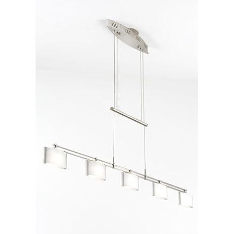 Holtkoetter 5515 sn gb50 halogen low voltage contemporary chandelier satin nickel with b
