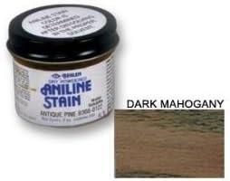 Seco anilina tinte en polvo – Caoba Oscuro 2 oz