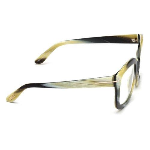 f671383cef0ba Tom Ford Eyeglasses FT5315 062 Shiny Green Horn - Import It All