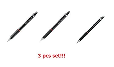 [3 pcs set] rotring Rapid Mechanical Pencil 0.35mm 0.5mm 0.7mm