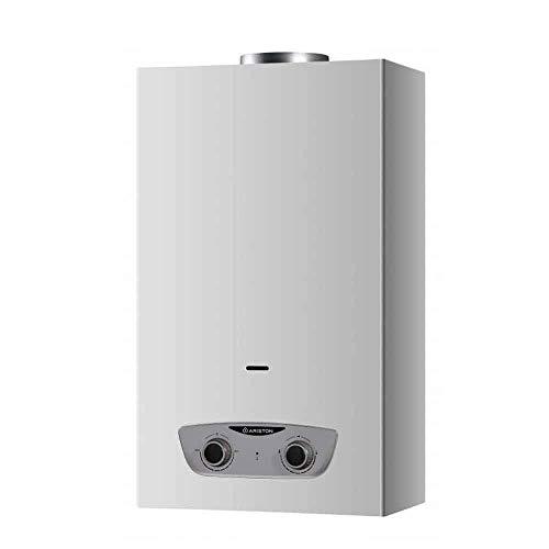 Ariston - Calentador De Gas Instantaneo Butano/Propano 11 Litros BAJO NOX - Fast RX - Tiro Natural - Atmosferico