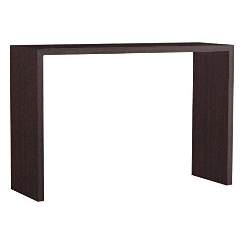 arne カウンターテーブル バーテーブル セミオーダー 日本製 幅140cm 奥行45cm 高さ90cm コンソールテーブル 机 テーブル 木製 Zero-X 14045HH ホワイトウッド B079KZFDTL 幅140×奥行45,ホワイトウッド