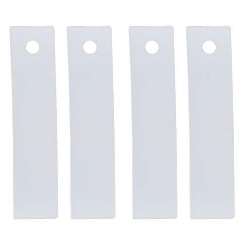 (ApplianPar 4 Pack WE1M504 Dryer Front Drum Glide Slide kit for GE WE1M333 PS755842)