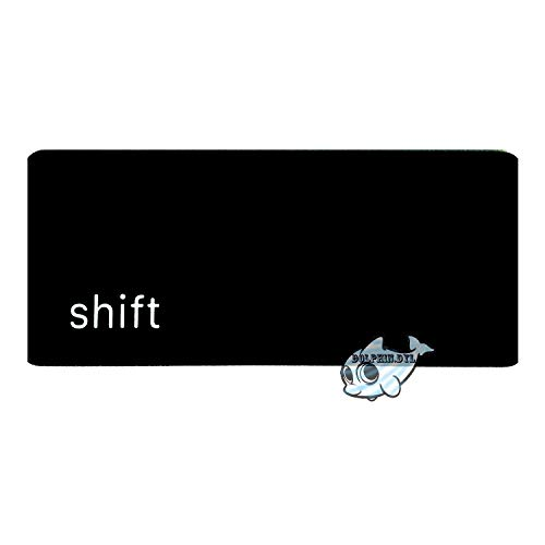 Dolphin.dyl(TM) Individual Replacement Key Cap for US New MacBook A1534 'Left Shift' Key Keyboard(Key Cap Only)