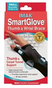 - Imak Smart Glove with Thumb Support, Black, Small