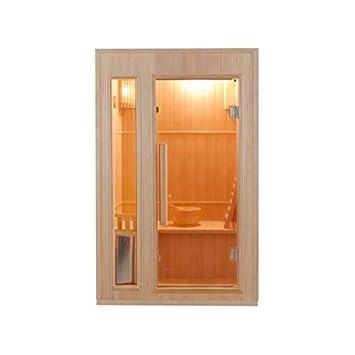 Berühmt traditionelle finnische sauna zen fuer 2 personen: Amazon.de IW04