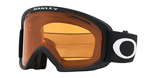 Oakley O Frame 2.0 Asian Fit Snow Goggle, Matte Black, Large, Persimmon ()