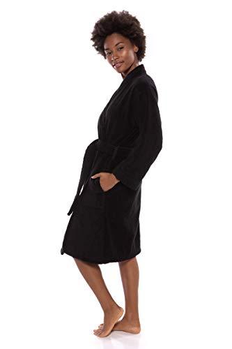 95dad20202 Texere Women s Organic Cotton Terry Robe - Slim Fit Bathrobe for Her (Megève )