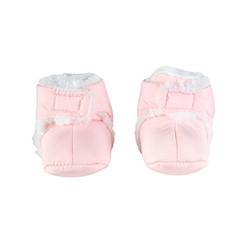 CHAUSSON invierno Scratch–bebé niña–rosa rosa rosa Talla:0 a 6 meses