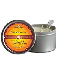 Earthly Body Round Candle - Dreamsicle 192g