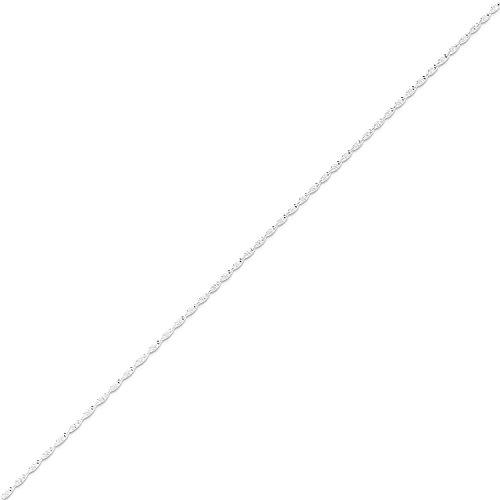 West Coast Jewelry Sterling Silver 1.65mm Twisted Herringbone Chain - 24 -