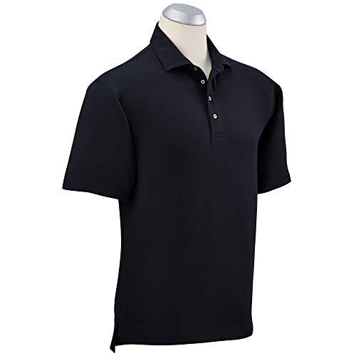 Bobby Jones Golf Polo Shirt - Short Sleeve Solid Polo Shirt for Men - Stretch Liquid Cotton Shirt ()